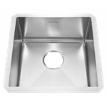 18sb.8171700.075 Ams Stainless Pekoe Welded Sb Sink W/ Grid And Waste Fitting 18 Gauge Undermount (rack 7302288-4010750a) CAT108,791556101159,791556100886