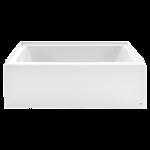 2973.102.011 As Studio Acrylic Tub 60 X 30 X 18 Rh Arc White L CAT112L,2973102011,791556106451,