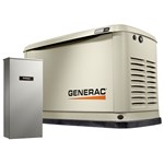 11/10 Kw Air-cooled Standby Generator With Wifi, Alum Enclosure, 16 Circuit Lc Nema3 - No Whip CATGNC,696471074130
