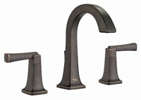 7353801278 As Townsend Legacy Bronze Ada Lf 6 To 12 Widespread 3 Hole 2 Handle Bathroom Sink Faucet 1.2 Gpm CAT117L,7353.801.278,012611581106,7353801278