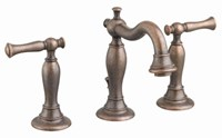 7440851224 D-w-o As Quentin Oil Rubbed Bronze Ada Lf 6 To 12 Widespread 3 Hole 2 Handle Bathroom Sink Faucet 1.2 Gpm CATO117L,7440.851.224,012611499494,7440851224