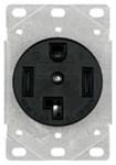 1257-sp Eaton Power/single Flush Locking 125/250 Volts Black Glass Reinforced Nylon Electrical Receptacle CAT752C,1257-SP,032664306808,1257SP