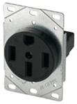 1258-sp Eaton Power/single Flush Straight Blade 125/250 Volts Black Glass Reinforced Nylon Electrical Receptacle CAT752C,1258-SP,032664306907,1258SP