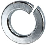 Lw14 D-w-o 1/4 Zinc Plated Lock Washer CATO763,LW14,31030,