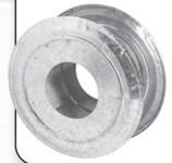3mpt Metal-fab 3 Round Wall Thimble CAT340MF,3MPT,622417100724