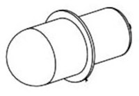 49-81-0020 Milwaukee 14.4 Volts Replacement Bulb CAT532,49-81-0020,49-81-0020,045242210565