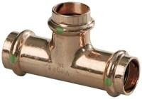 77417 Viega 1 X 3/4 X 1/2 Copper Propress Tee Press X Press X Press CAT539P,77417,PPTGFD,999000124362,green,VIEGA GREEN,LEAD FREE,53935188,691514774176