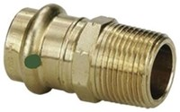 79245 Lf 1 X 1 Bronze Adapter P X M Npt Propress CAT539P,79245,PPMAG,77842,30691514792454,691514792453