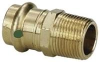 79275 Lf 1-1/2 X 1-1/2 Bronze Adapter P X M Npt Propress CAT539P,79275,PPMAJ,77872,691514792750