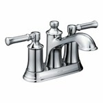 6802 Moen Dartmoor 4 In Centerset 2-handle Bathroom Faucet In Chrome CAT161,026508264386,