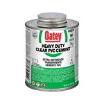 30876 Oatey 16 Oz Pvc Heavy Duty Clear Cement CAT468O,OHC16,50038753308765,30876,OH16,038753308760