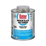 30892 Oatey 16 Oz Abs Medium Black Cement CAT468O,OABS16,OAA16,31802,30892,OABS16,ABS16,038753308920