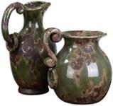 19429 D-w-o Hani Pitchers Ce4ramic S/2 10x14 CATDUTT,19429,CATDUTT,