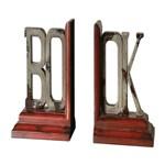 19589 D-w-o 8x8 Book, Bookends S/2 CATDUTT,19589,CATDUTT,