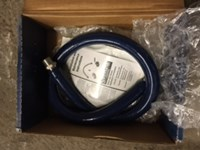 Hw-2d-48 Lf Water Hose, Male Fittings, 3/4 Diameter, 48 Long, Not Factory Fresh Packaging Status L