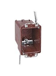 6070-4ub T&b 18 Cu In 1 Gang Brown Rectangular Electrical Box CAT751U,C60704,S118W,60704,1GB,1GBOLD,OLDWORK,CLIPIN,