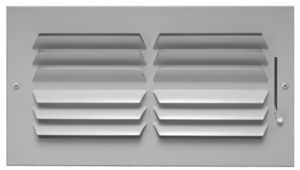 3411208cw 602hm 12x8 2-way Horz Curved Grill White CAT350,602HM128,602HM,3411208,602128,602HM,3411208CW,053713912191
