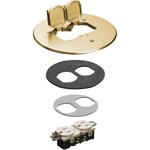 Flb6230mb 6 In Brass Cover Kit CAT702A,FLB6230MB,01899722025,PETCP2