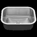 18sb.9231800s.075 Portsmouth 23x18 Sb Undermt Sink W/dran CAT108,18SB9231800S075,791556100893