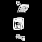 T353.500.002 D-w-o Ams Townsend Pc Ada 1 Hole Lever Handle Tub & Shower Trim Kit CAT117L,T353.500.002,012611581274,T353500002,