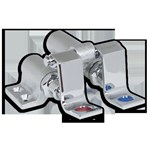 7680.210.002 Chrome Floor Mount Double Pedal Valve