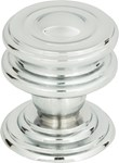 376-ch Campaign Round Knob 1 1/4 Inch Polished Chrome