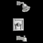 T555.527.002 As Town Square Pol Chrome 1 Handle Shower Trim Kit CATD117L,T555.527.002,012611483776,T555527002,T555,