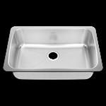 14sb.301900.073 D-w-o Radiant Silk Creased Sb Undrmnt Sink