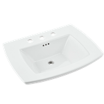 0445.008.020 Edgemere Sink Top 8 Ctr-white CAT111,0445008020,791556098510,