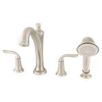 7106.901.295 D-w-o As Patience Roman Tub With Hand Shower Bn CATO117L,7106901295,012611598678,STAVD117L002