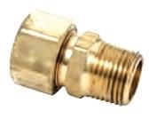 68-10-6 D-w-o 5/8od X 3/8 Mip Comp Hal Union 68-10-6 CATD331,68-10-6,68106,CFA58,68106,CATD331,26613067841