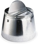 10 To 8 Reducer-damper, Use With Model 504 (includes Damper)