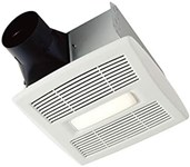 Ae80bl Broan Broan Led Fan Light 80 Cfm 1.5 Sones Energy Star