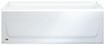 011330300 54 X 30 Steel Kona Left Hand Bath White CAT136,011-2303,0112303,2303,2715,2715100,0139.011.020,0139011020,LHST,STLH,STEEL TUB,008792106597