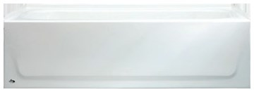 011-3365-00 Bootz Aloha White 5 Left Hand Alcove Bathtub Conventional Installation CAT136,011-2365,0112365,2365,2717.202.020,2717202020,AZTEC,ST,5ST,LHST,STLH,2505,2505WH,2505,2505WH,3365,008792113007
