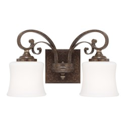 118721ds-299 D-w-o Capital Lighting 2 Light Vanity CATOCAP,841740103169