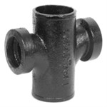 00435 4 X 2 No Hub Sanitary Tap Cross