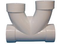 Ds3dbco-p 3 Pvc Dwv Double Barrel Cleanout CAT464,W2COM,DS3DBCO-P,755339005904