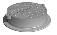 Deeter 1277dco Ring And Cover Drain County CAT686DE,1277,1277DCO,