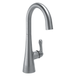 1953lf-ar Delta Arctic Stainless Single Handle Bar Faucet CAT160FOC,1953LF-AR,034449759755,MFGR VENDOR: DELTA,PRCH VENDOR: DELTA,34449759755