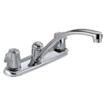 2100lf Delta Chrome 2100 / 2400 Series Two Handle Kitchen Faucet CAT160,034449620055,green,DELTA GREEN PRODUCTS,LEAD FREE,green,LEADFREE,DELTA GREEN,34449620055