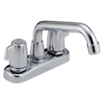 2123lf Delta Chrome Classic Two Handle Laundry Faucet CAT160,2123LF,034449692205,34449692205