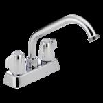 2131lf Delta Chrome Classic Two Handle Laundry Faucet CAT160,2131LF,2131LF,034449692175,34449692175