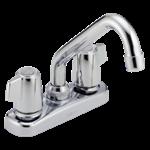 2133lf Delta Chrome Classic Two Handle Laundry Faucet CAT160,2133LF,2133LF,034449692182,34449692182