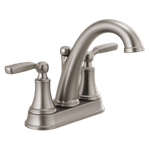 2532lf-sstp Stainless Delta Woodhurst Bathroom Faucet