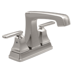 2564-ssmpu-dst Delta Stainless Ashlyn Two Handle Centerset Bathroom Faucet CAT160,2564-SSMPU-DST,034449743617,34449743617