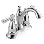 2593-mpu-dst Delta Chrome Linden Traditional Two Handle Centerset Bathroom Faucet CAT160,34449819855