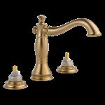 3597lf-czmpu-lhp Delta Champagne Bronze Cassidy Two Handle Widespread Bathroom Faucet - Less Handles CAT160FOC,3597LF-CZMPU-LHP,034449681841,3597LFCZMPULHP,34449681841,