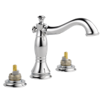 3597lf-mpu-lhp Delta Chrome Cassidy Two Handle Widespread Bathroom Faucet - Less Handles CAT160FOC,3597LF-MPU-LHP,034449681810,3597LFMPULHP,34449681810,