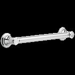 41618 Delta Chrome Bathsafety 18 Traditional Decorative Ada Grab Bar CAT160FOC,41618,034449714822,34449714822
